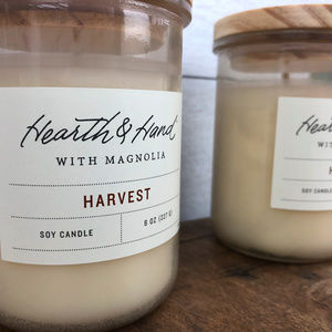 Hearth & Hand Harvest Candles Set of 2